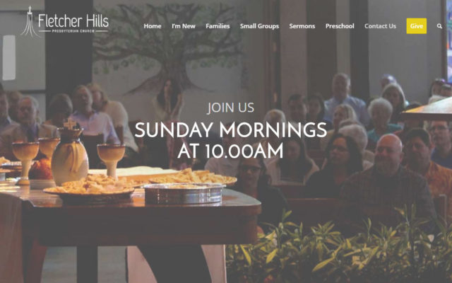 Fletcher Hills new website redeisgn
